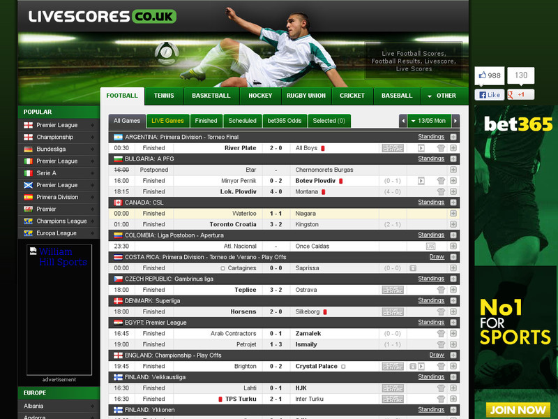 livescores.co.uk-livescore-comparison